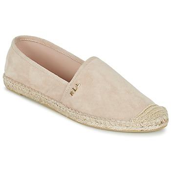 Zapatos Mujer Alpargatas Ralph Lauren DANITA ESPADRILLES CASUAL Rosa