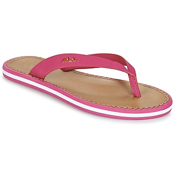 Zapatos Mujer Chanclas Ralph Lauren RYANNE SANDALS CASUAL Rosa