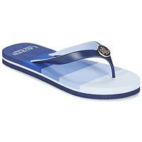 Zapatos Mujer Chanclas Ralph Lauren ELISSA III SANDALS CASUAL Azul