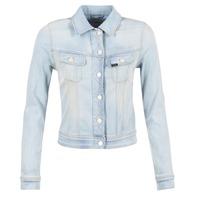textil Mujer chaquetas denim Lee SLIM RIDER Azul / Claro