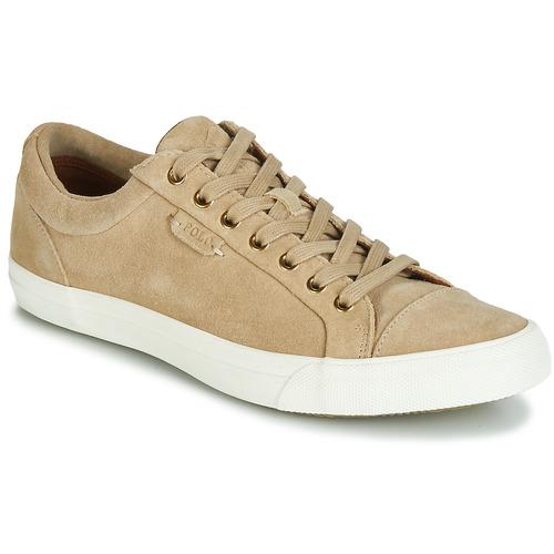 Zapatos especiales para hombres y mujeres Polo Ralph Lauren GEFFREY Camel