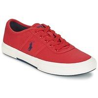 Zapatos Hombre Zapatillas bajas Ralph Lauren TYRIAN Rojo
