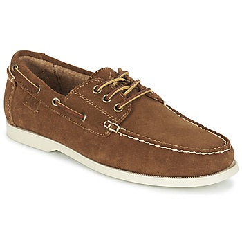 Zapatos Hombre Zapatos náuticos Ralph Lauren BIENNE II Marrón
