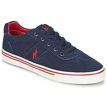 Zapatos Hombre Zapatillas bajas Polo Ralph Lauren HANFORD Marino
