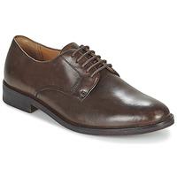 Zapatos Hombre Derbie Ralph Lauren MOLLINGTON Marrón