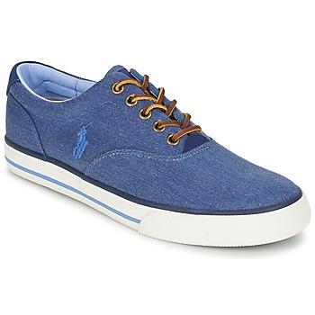 Zapatos Hombre Zapatillas bajas Ralph Lauren VAUGHN Azul