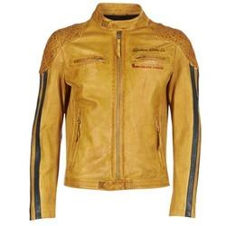textil Hombre Chaquetas de cuero / Polipiel Redskins RIVAS Amarillo