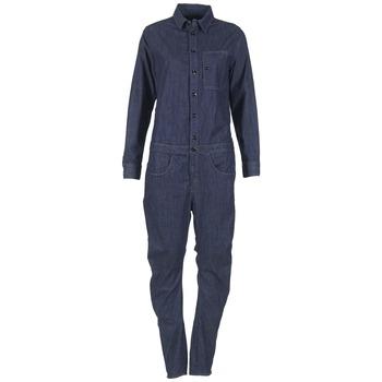textil Mujer Monos / Petos G-Star Raw STALT 3D Azul / Oscuro