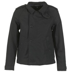 textil Mujer trench G-Star Raw FLORENCE CROPPED Negro