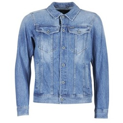 textil Hombre chaquetas denim G-Star Raw 3301 DECONSTRUCTED 3D SLIM Azul