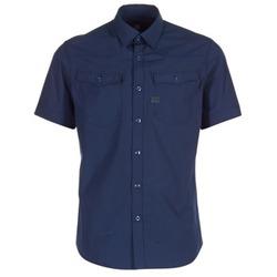 textil Hombre camisas manga corta G-Star Raw 3301 SHIRT Marino