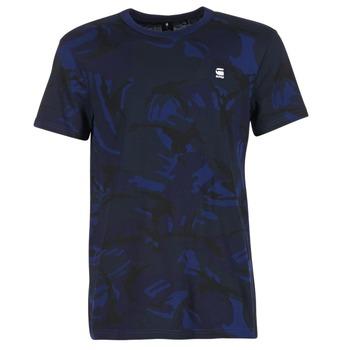 textil Hombre camisetas manga corta G-Star Raw HOYN Marino / Azul