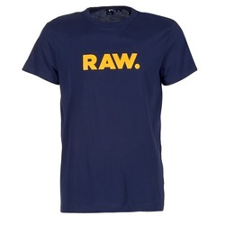 textil Hombre camisetas manga corta G-Star Raw RAW DOT Marino