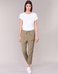 textil Mujer Pantalones fluidos G-Star Raw POWEL UTILITY 3D SPORT Beige