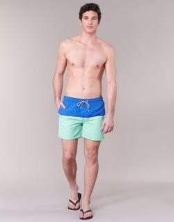 textil Hombre Bañadores Gant CUT & SEWN SWIM SHORT Verde / Marino