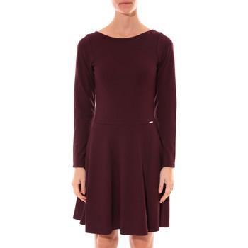 textil Mujer Vestidos cortos Coquelicot Robe  Col V Bordeaux 16201 Rojo
