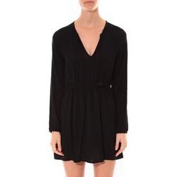 textil Mujer Vestidos cortos Coquelicot Robe   Col V Noir 16216 Negro