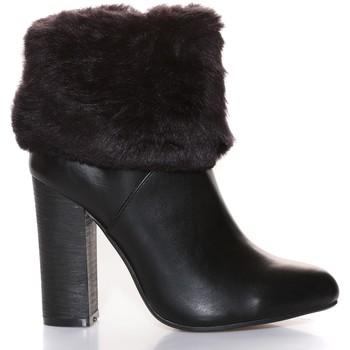 Zapatos Mujer Botines Cassis Côte d'Azur Cassis Côte d' azur Bottine Wallace Noir Negro