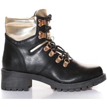 Zapatos Mujer Botas de caña baja Cassis Côte d'Azur Cassis Côte d' azur Bottine Daphne Noir Negro