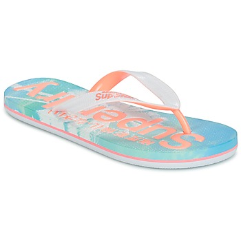 Zapatos Mujer Chanclas Superdry SUPERDRY AOP FLIP FLOP Rosa