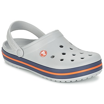 Zapatos Zuecos (Clogs) Crocs CROCBAND Gris