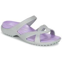 Zapatos Mujer Sandalias Crocs MELEEN TWIST Gris