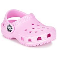 Zapatos Niña Zuecos (Clogs) Crocs Classic Clog Kids Rosa