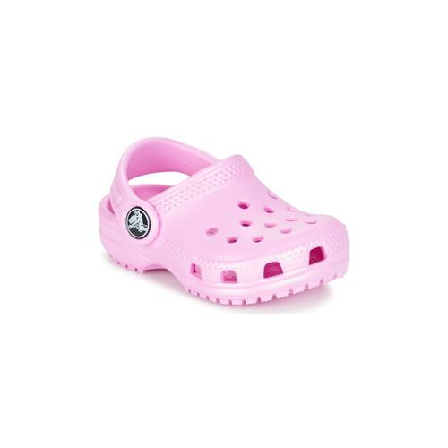 Zapatos Niños Zuecos (Clogs) Crocs Classic Clog Kids Rosa