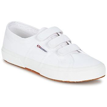 Zapatos Zapatillas bajas Superga 2750 COT3 VEL U Blanco