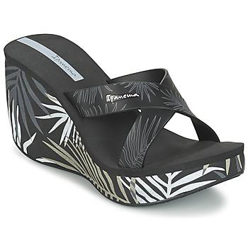 Zapatos Mujer Zuecos (Mules) Ipanema LIPSTICK STRAPS III Negro