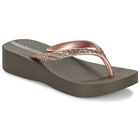 Zapatos Mujer Chanclas Ipanema MESH PLAT II Marrón / Rosa