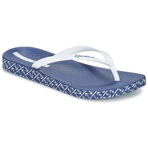 Zapatos Mujer Chanclas Ipanema ANATOMIC SOFT Blanco / Azul