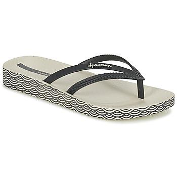 Zapatos Mujer Chanclas Ipanema BOSSA SOFT Negro / Beige