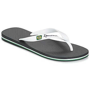 Zapatos Hombre Chanclas Ipanema CLASSICA BRASIL II Negro / Blanco