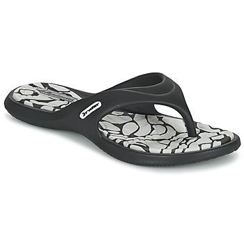 Zapatos Mujer Chanclas Rider ISLAND VIII Negro / Gris