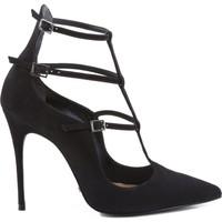 Zapatos Mujer Zapatos de tacón Schutz SCARPIN REDESIGNED MULTI STRAPS BLACK