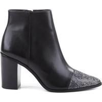 Zapatos Mujer Botines Schutz BOTA POINTED CRISTAIS BLACK