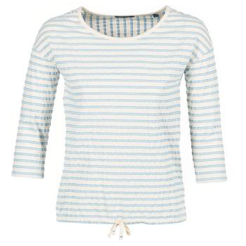 textil Mujer Tops / Blusas Marc O'Polo GRASSIRCO Blanco / Azul