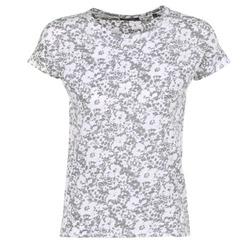 textil Mujer camisetas manga corta Marc O'Polo BRIDELOPAC Gris / Blanco