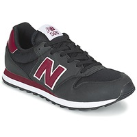 Zapatos Zapatillas bajas New Balance GM500 Negro / Burdeo