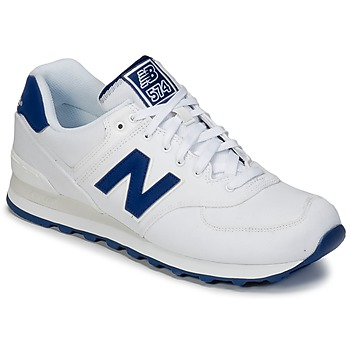 Zapatos Zapatillas bajas New Balance ML574 Blanco / Azul