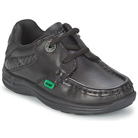Zapatos Niños Zapatos náuticos Kickers REASON LACE Negro