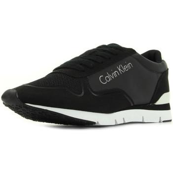 Zapatos Mujer Zapatillas bajas Calvin Klein Jeans Tori Reflex Nylon Microfibre Negro