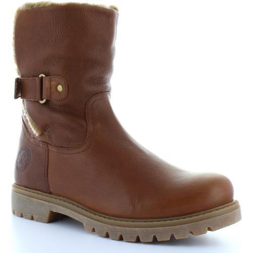 Zapatos promocionales Panama Jack FELIA B8 Marrón  Casual salvaje
