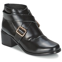 Zapatos Mujer Botines F-Troupe Double Buckle Boot Negro