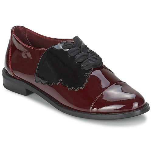 Zapatos Mujer Derbie F-Troupe Butterfly Shoe Burdeo