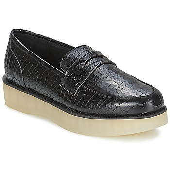 Zapatos Mujer Mocasín F-Troupe Penny Loafer Negro