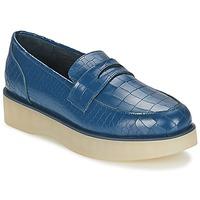 Zapatos Mujer Mocasín F-Troupe Penny Loafer Navy