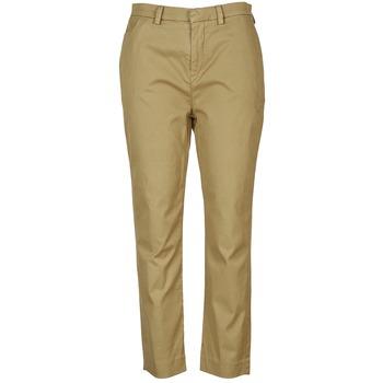 textil Mujer pantalones chinos Diesel P-RURI-B COGNAC