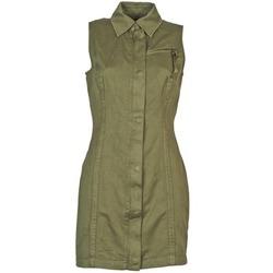 textil Mujer vestidos cortos Diesel D-NAOMIE Kaki